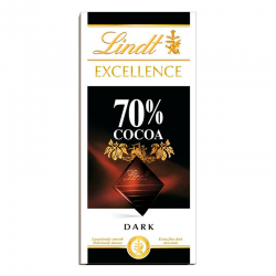 CHOCO.LINDT EXCELL 70% 100G