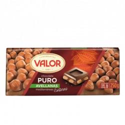 CHOCO.VALOR C/AVE.250G